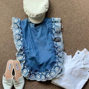 🌸🌼Nightcap clothing blouse
